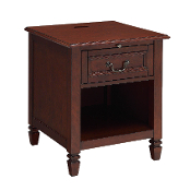 Carlton Nightstand with Charging Station